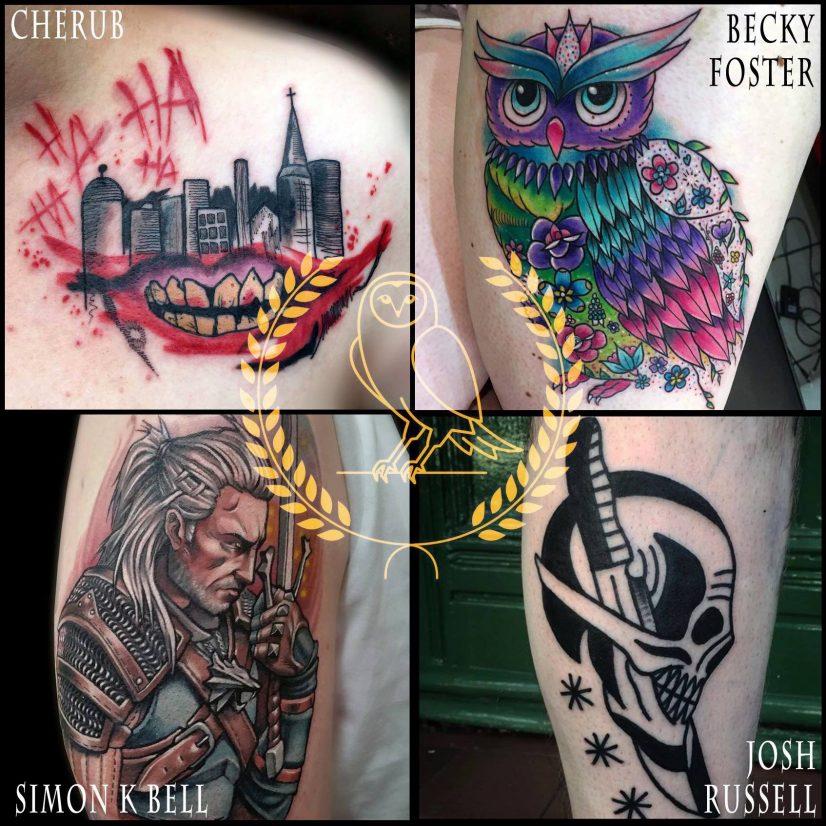 Minerva Lodge Tattoo Guest Artists