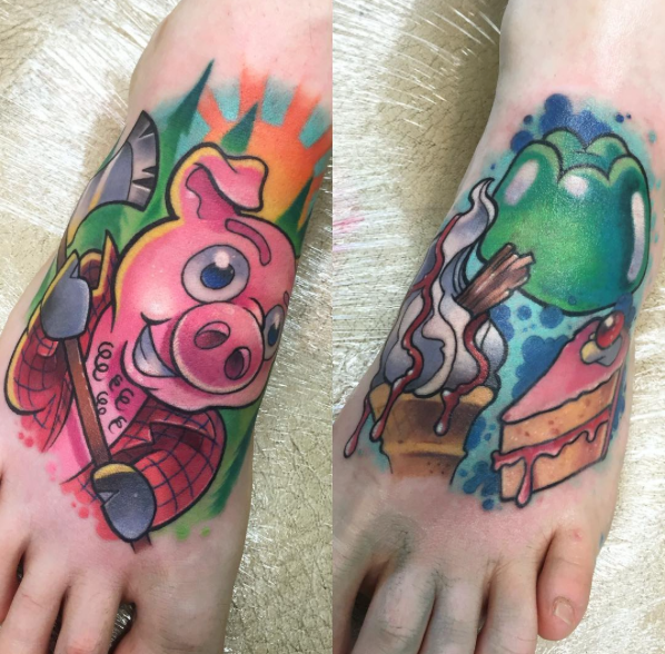Colour Tattoo Artist Chester