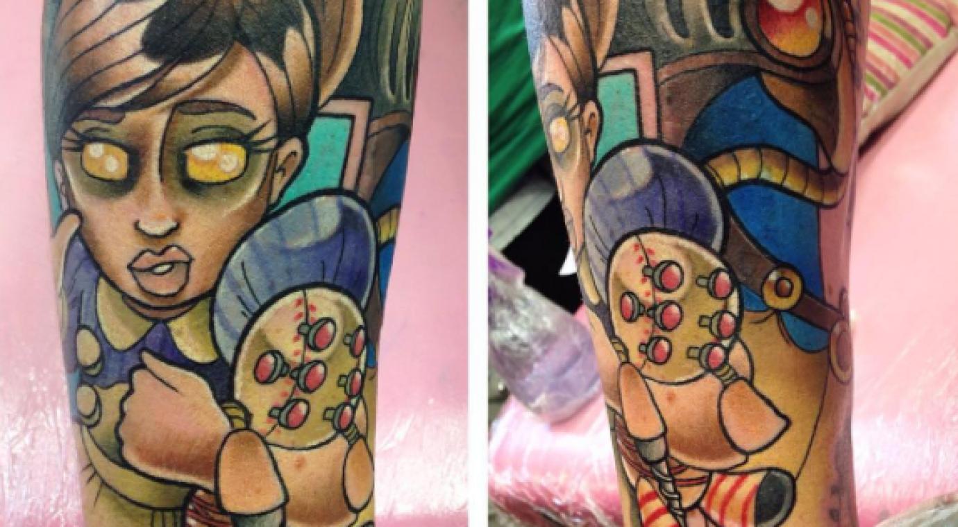 Colour Tattoo Artist Chester