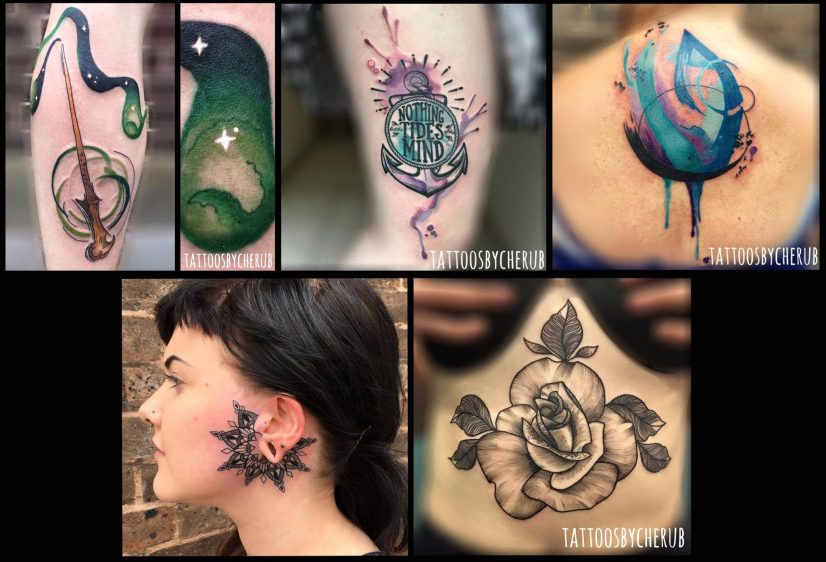 Minerva Lodge Tattoo Club Chester - Tattoos by Cherub