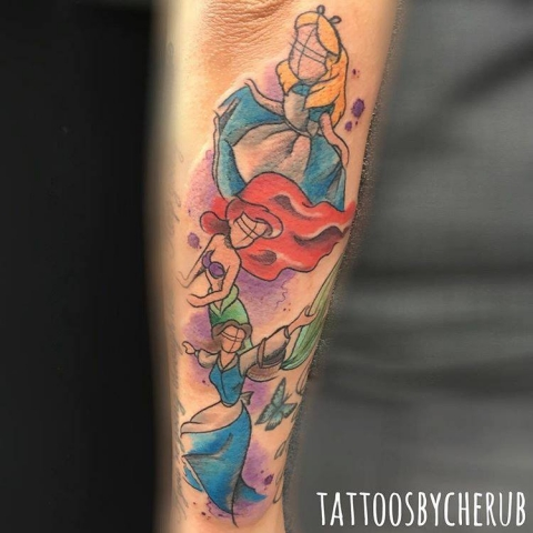 Minerva Lodge Tattoo Club Chester - Tattoos by Cherub